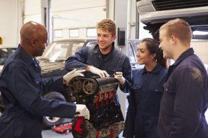 diesel mechanic trade school